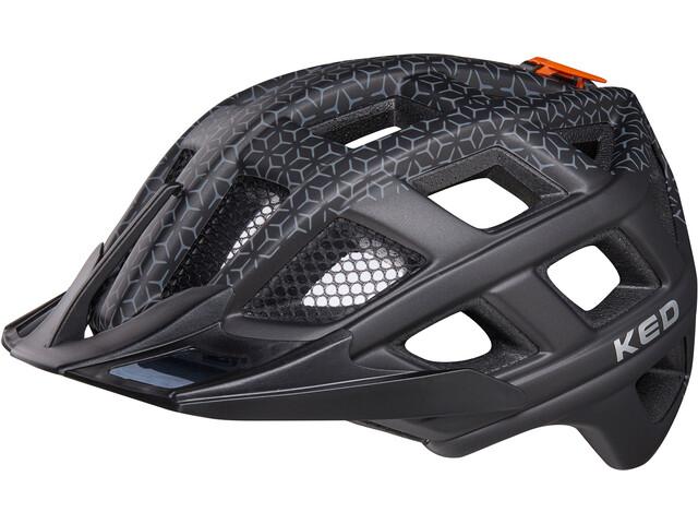 KED Crom - Casco de bicicleta - negro